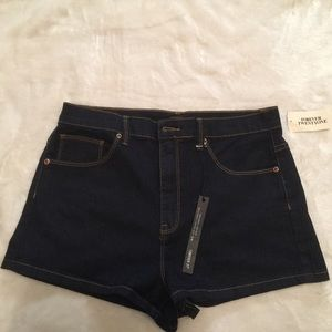 {(4 for $20)} Forever 21 dark jean shorts NWT